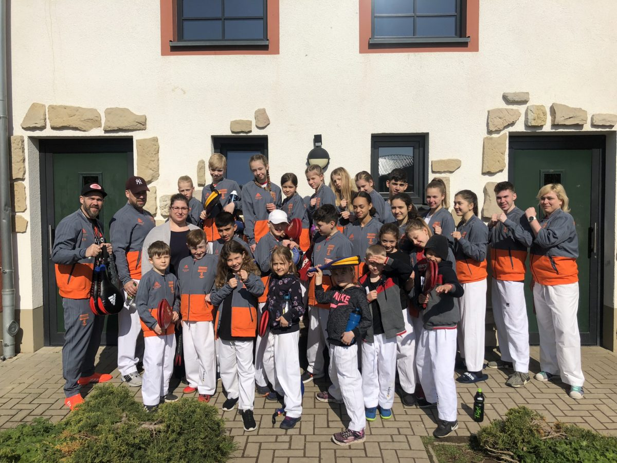 Team Fullcontact - Trainingslager in Naumburg (Saale) April 2019